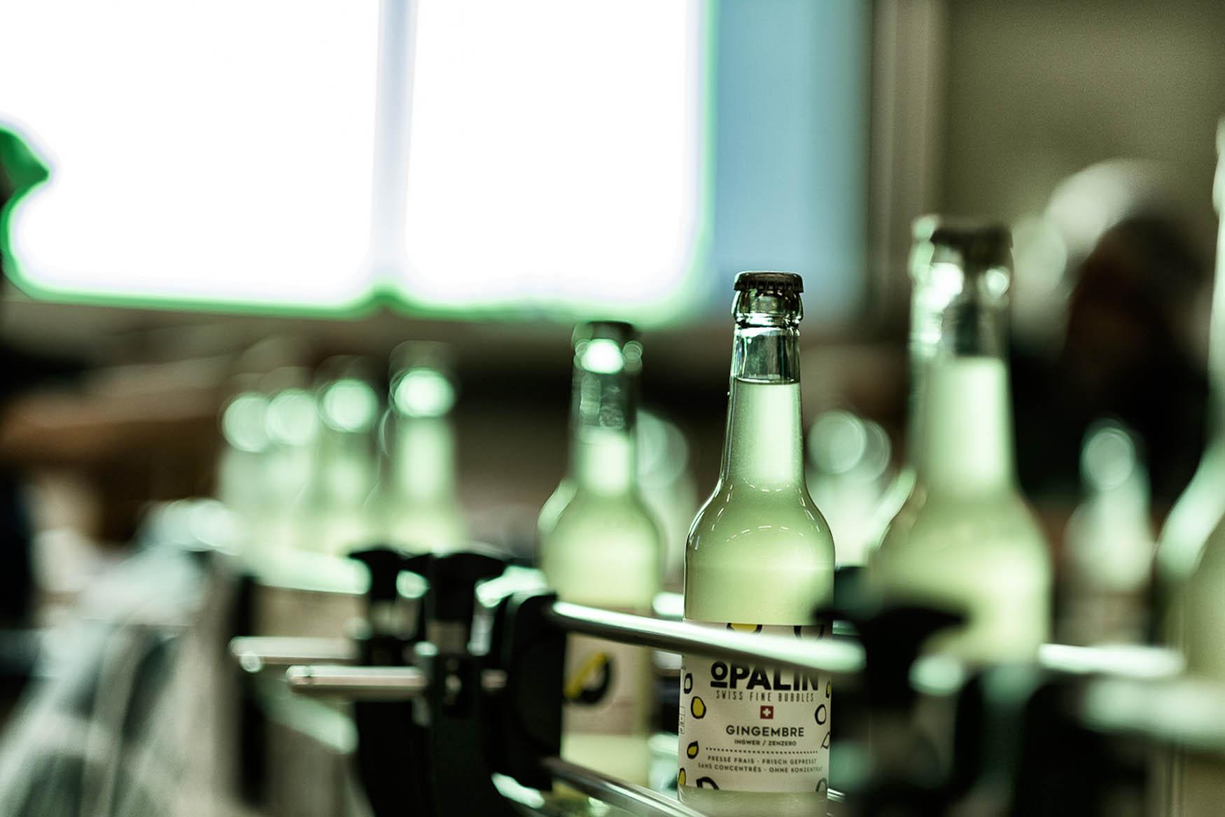 Mise en bouteille par Opaline factory
